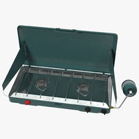 3d model portable propane stove