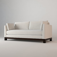 3d sofa avalon white barbara