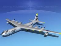 3ds max b-36b b-36d convair b-36