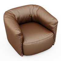 armchair santa monica leather max
