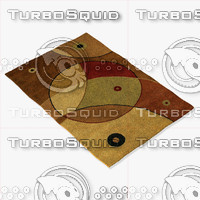 3d model chandra rugs ant-116