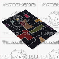 chandra rugs ben-3000 3d 3ds