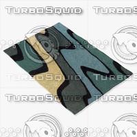 3dsmax chandra rugs ben-3006