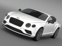 3d bentley continental gt v8