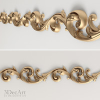 decorative frieze obj