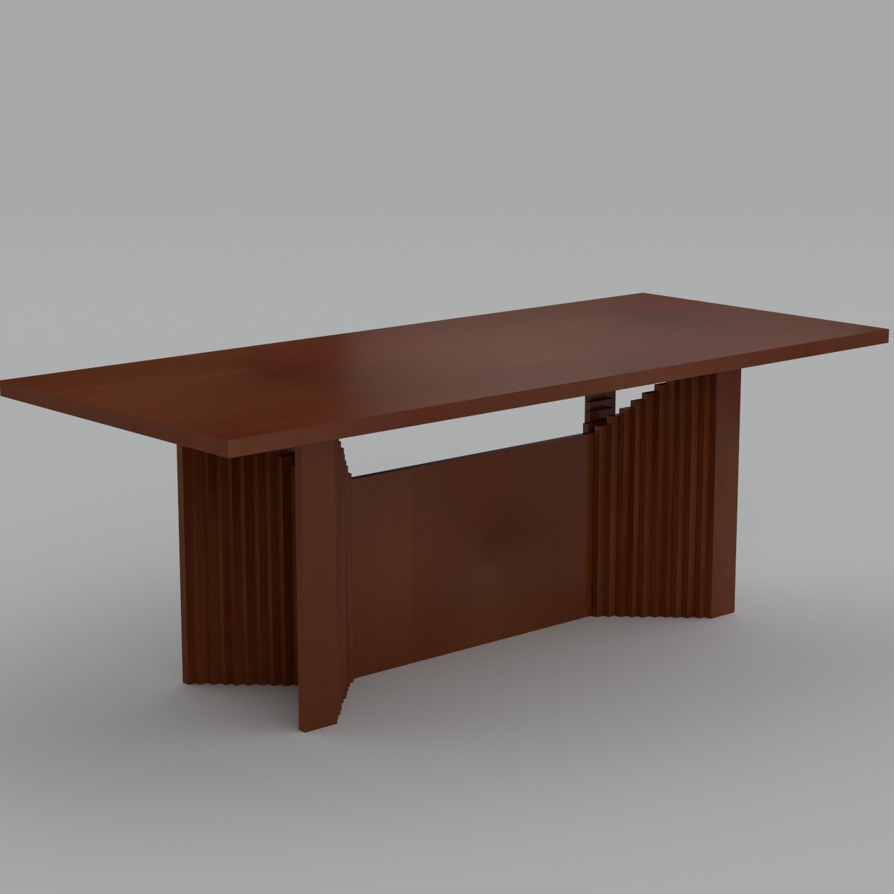Wooden table uv unwrapped 3d max for Table 52 2015