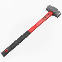 sledge hammer graintex c4d