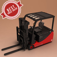 hight lift truck 3d max