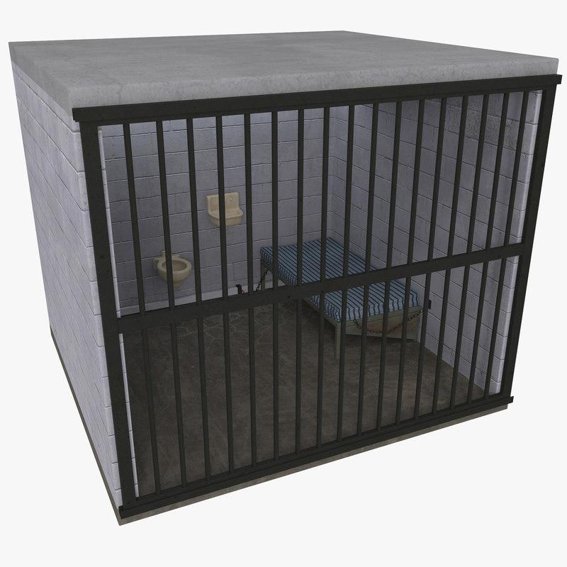 Prison Cell 3d model 00.jpg