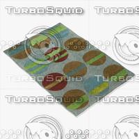 chandra rugs los-1807 3d model