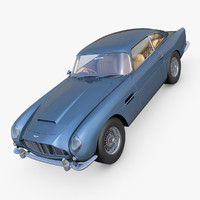 aston martine db5 3d model