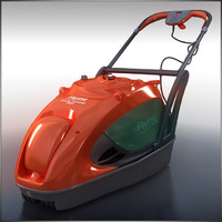 3d model of mower glide master