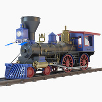3d jupiter steam locomotive