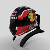 daniil kvyats 2015 helmet 3d model