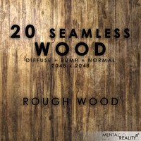 20 High Resolution Seamless Wood Textures - Rough Wood