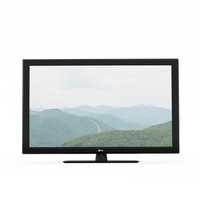 tv lg 3d model