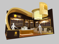 maya exhibition design stand