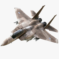 strike eagle 3d model
