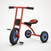 3d model children bicycle