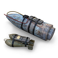 improvised explosive devices 3d model