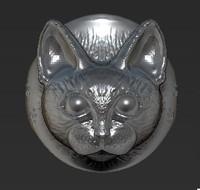 cat ring 3d model