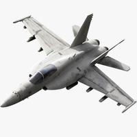 f a-18 super hornet 3d max