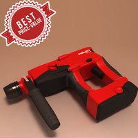 3ds max battery drill hilti te2a