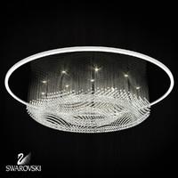 3d model chandelier ripple