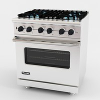 Viking 3 Dual Fuel Range