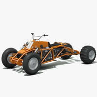 3d model powered atv - cummins