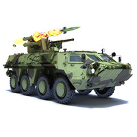 btr-4 bucephalus 3d model