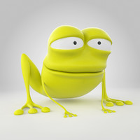 3ds max lazy frog