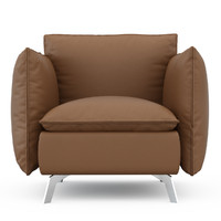 3d model armchair aladine