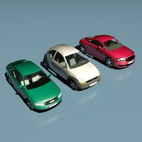 Low Poly Cars