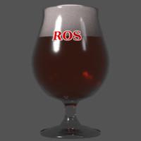 Beer glass (tulip)