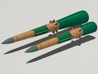 9m83 missiles s-300v 3d 3ds