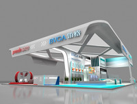 3ds max exhibition design stand