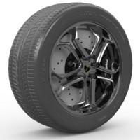 maya wheel zr19