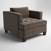 temple club chair 3d model