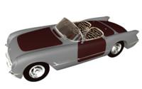 3d chevrolet corvette 1953