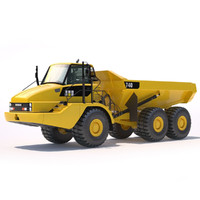 Articulated Dump Truck 2012