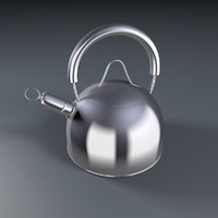 3d model of kettle