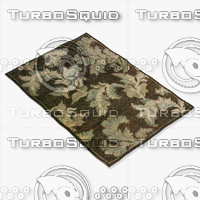3d model loloi rugs am-02 chocolate