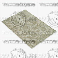3d model loloi rugs av-04 beige