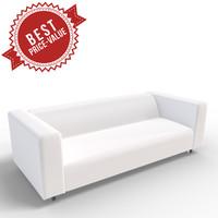 3d sofa seater