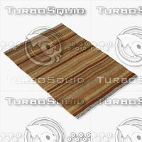 loloi rugs cm-03 rust 3d model