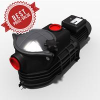 3d model water pump
