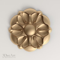 decorative rosettes 3d max