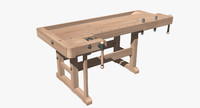 workbench 3d model