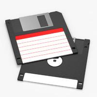max 3½-inch floppy disk